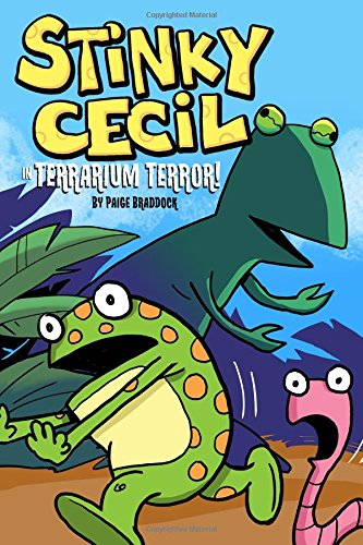 Stinky Cecil in Terrarium Terror What's New in Graphic Novels for Kids