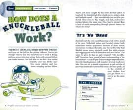 The Book of Wildly Spectacular Sports Science 54 All-Star Experiments example page