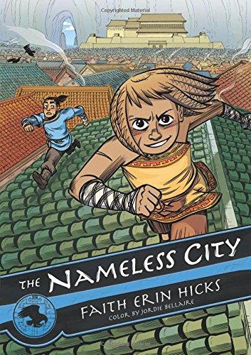 The Nameless City best graphic novels for kids