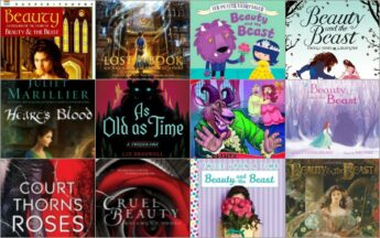 find the Beauty and the Beast book adaptations for kids