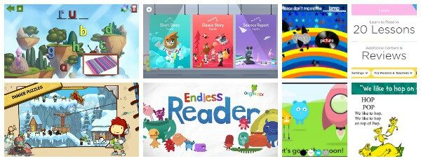 Reading (and Writing) Apps for Kids