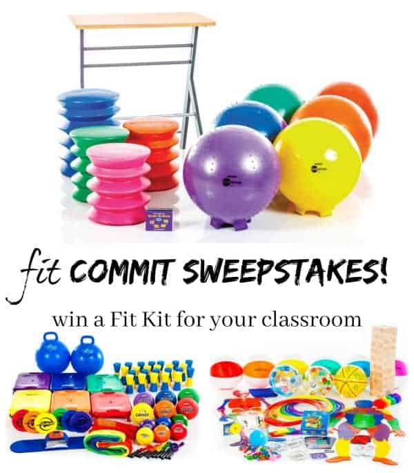 fit Commit Sweepstakes for Teachers