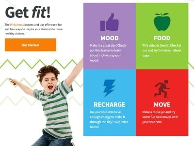 fit4schools lessons and tips