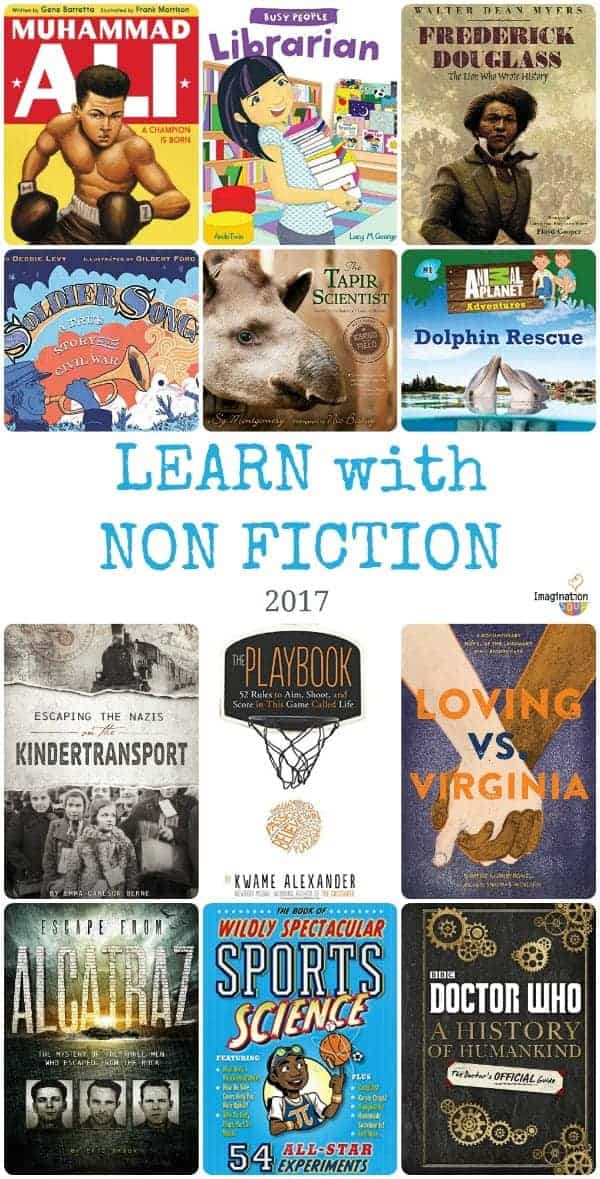 new for 2017! Non Fiction Books for Kids
