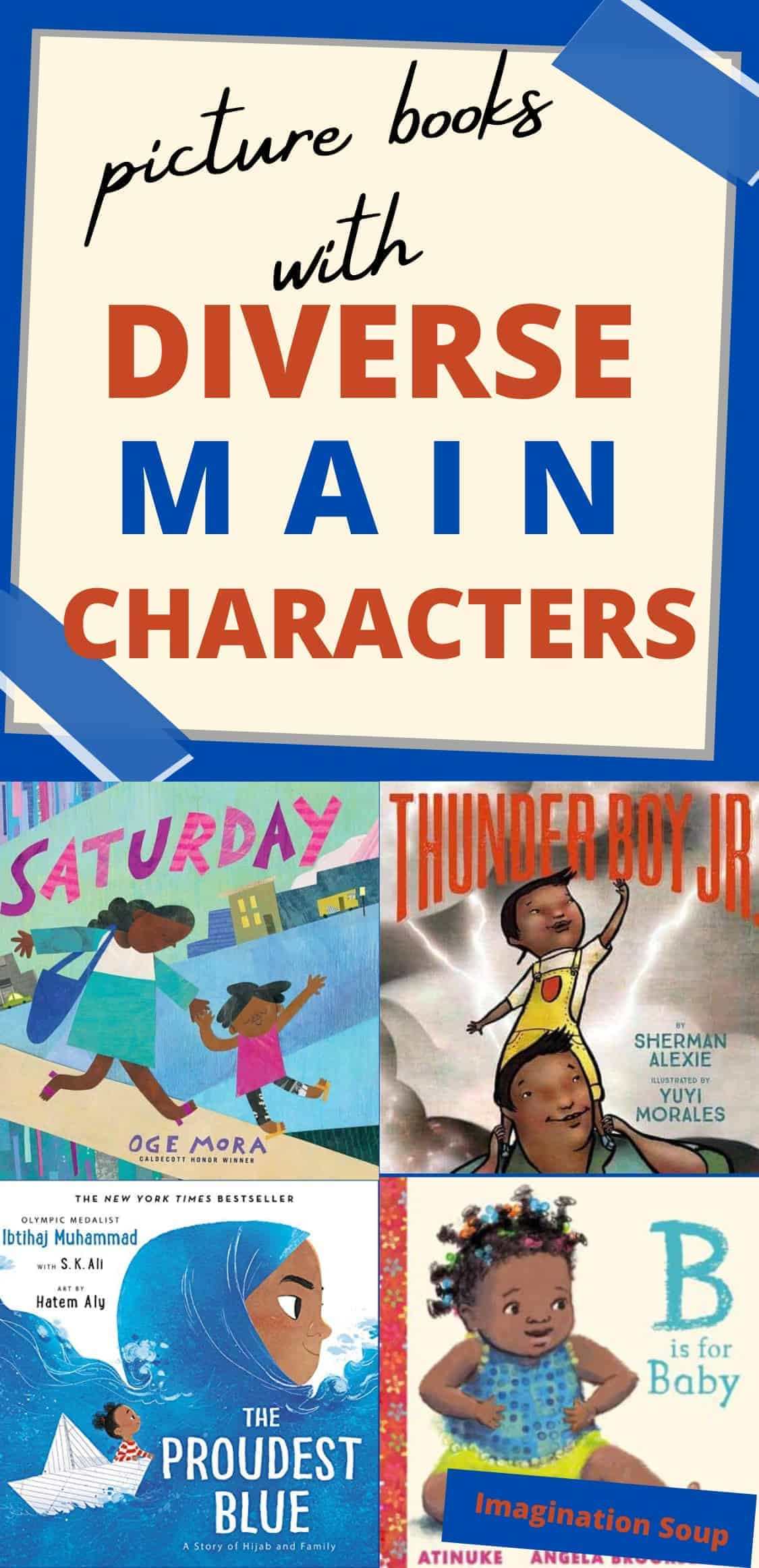 picture books with diverse main characters