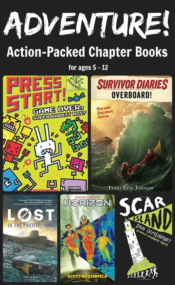 2017 adventure chapter books