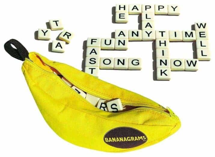 Bananagrams fun vocabulary games for kids