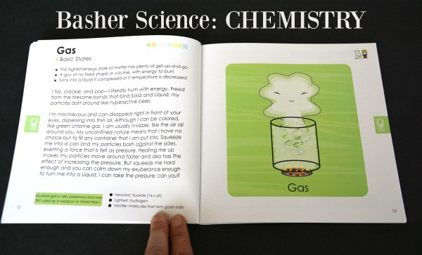 Basher Science Chemistry Book Page