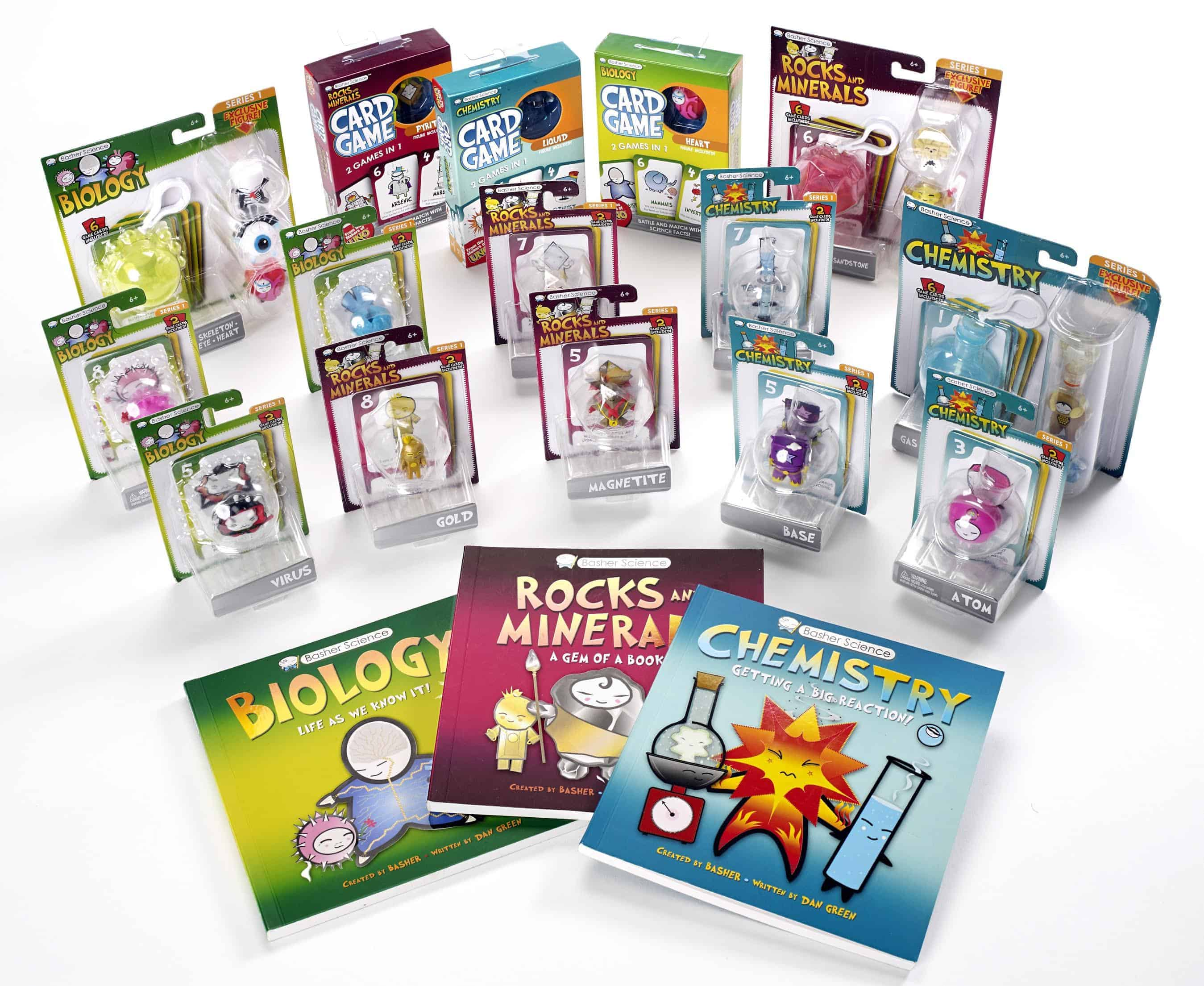 Basher Science Games, Books, and Toys for Kids