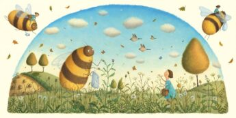 Bee and Me by Alison Jay books about nature and animals