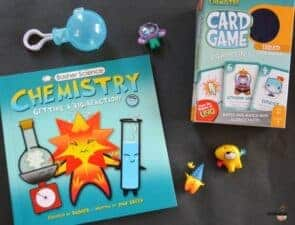 Basher Chemistry Book and Science Game for Kids