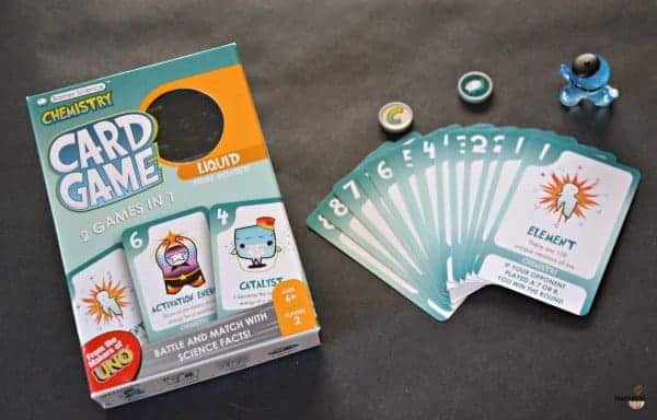 Chemistry Card Game for Kids from Basher Science