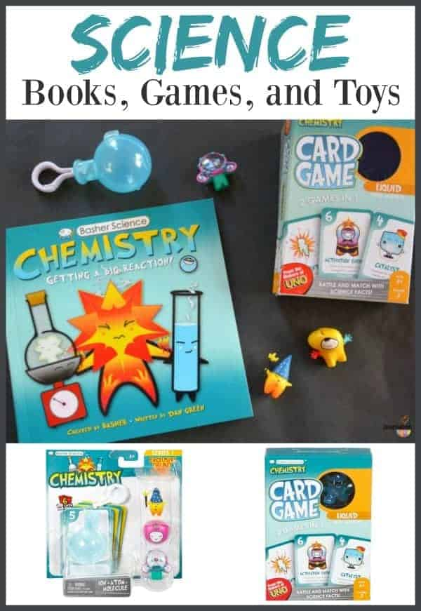 Cool Basher Science Books, Games, and Toys for Kids