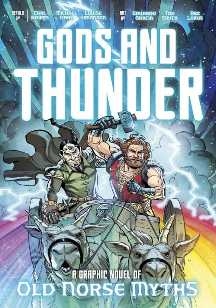 Gods and Thunder- A Graphic Novel of Old Norse Myths What's New in Graphic Novels for Kids