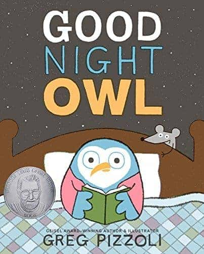 Good Night Owl by Greg Pizzoli bedtime stories
