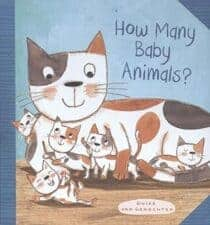 How Many Baby Animals by Guido Van Genechten New Spring Books for Kids About Nature and Animals