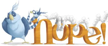 NOPE! A Tale of First Flight by Drew Sheneman books about nature and animals