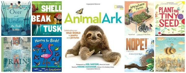 New Spring Books for Kids About Nature and Animals