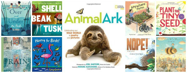 New Spring Books About Nature and Animals 2017