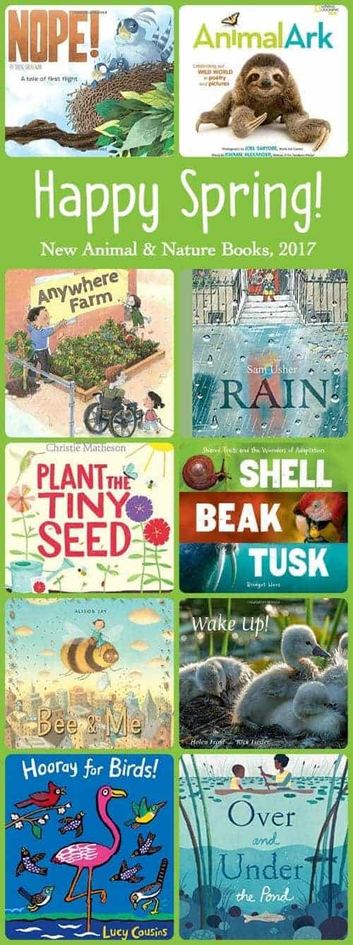 Nature and Animal Books to Get Kids Excited About Conservation, Gardening, and the Natural World