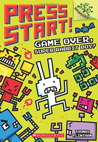 Press Start! Game Over, Super Rabbit Boy! good books for 7 year olds