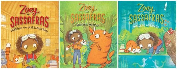 Charming STEM Beginning Chapter Book Series: Zoey and Sassafras