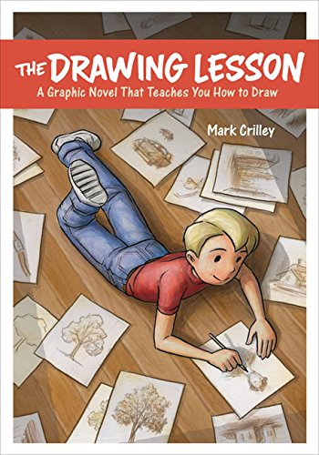 The Drawing Lesson- best Graphic Novels for Kids