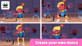 Toca Dance FREE Cool Apps for Kids