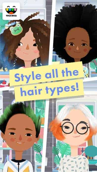 Toca Hair Salon 3 Cool Apps for Kids