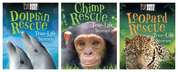 True Stories of Wild Animal Rescues Chapter Books