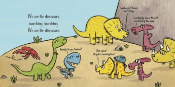 We Are the Dinosaurs page sample