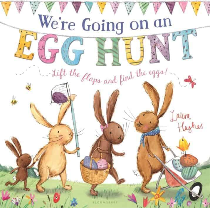We're Going on an Egg Hunt  2017 Easter Books