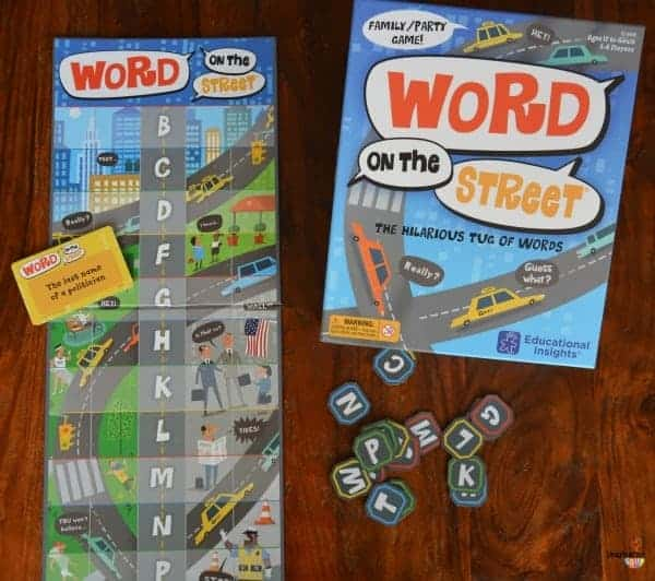 New Learning Game: Word on the Street