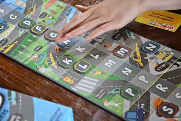learning game for kids called Word on the Street