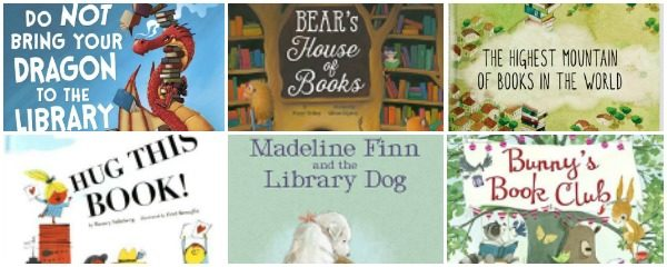 Picture Books That Celebrate Books