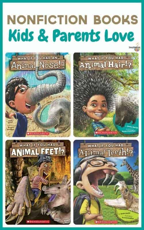 engrossing nonfiction series that kids love