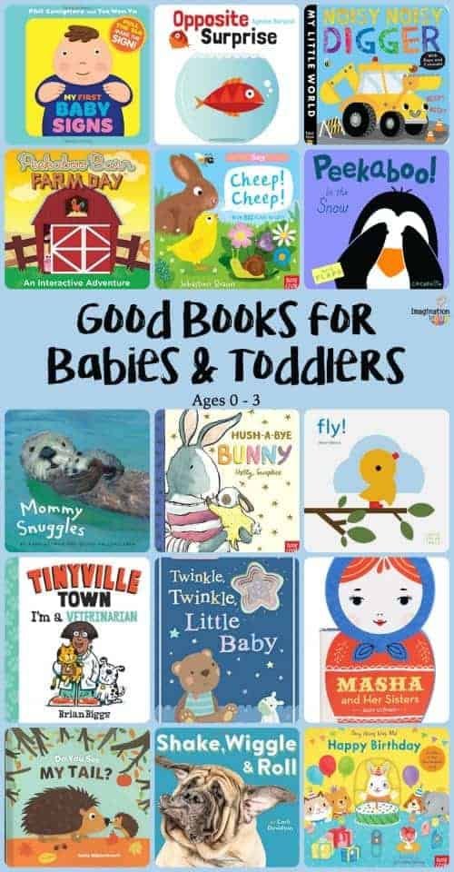 good board books for babies and toddlers ages 0, 1, 2, 3