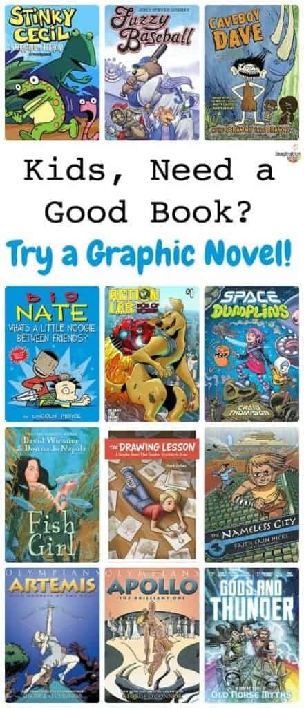awesome graphic novels for kids (new titles from 2016 and 2017)