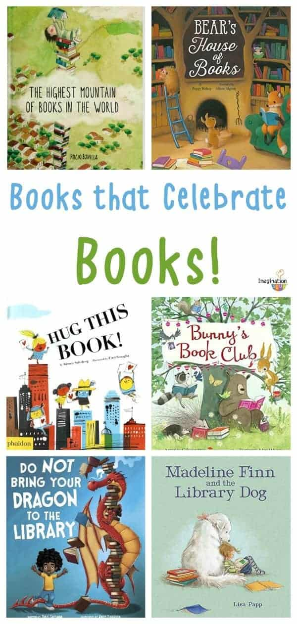 picture books about books, reading, and the library!
