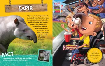 what if you had an animal nose scholastic page sample