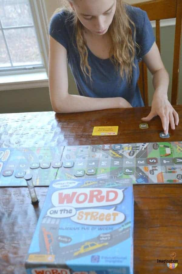 New Learning Game for Kids: Word on the Street