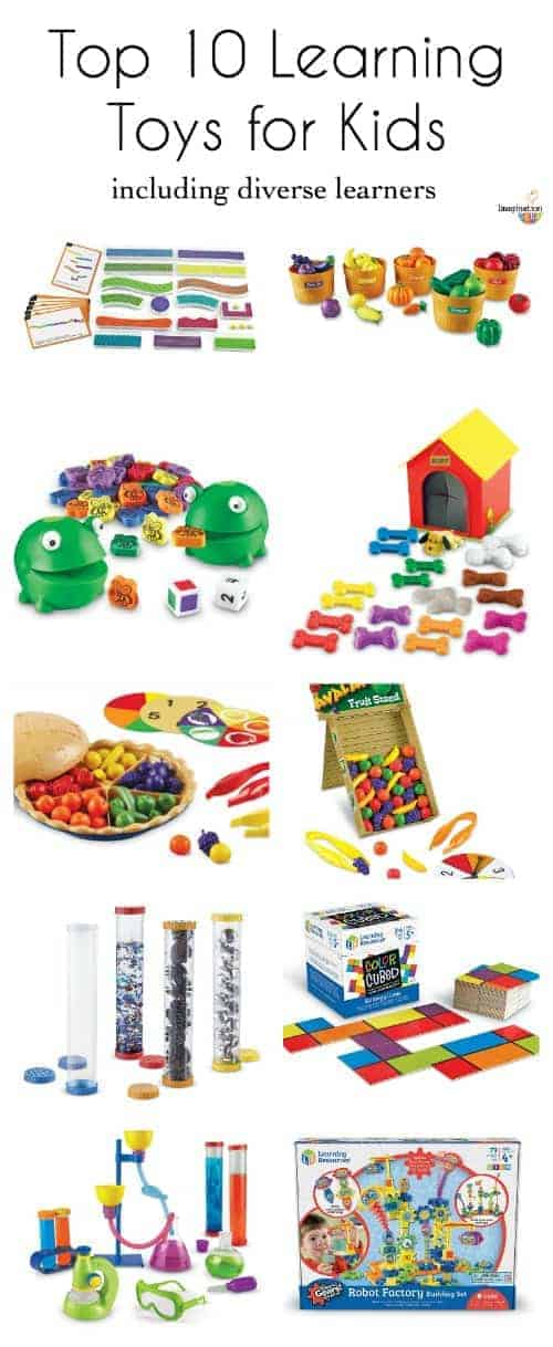 Top 10 Educational Toys : Top learning toys for kids including diverse learners