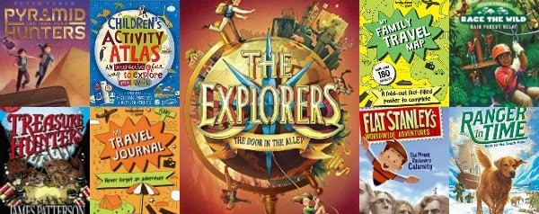 A Wanderlust Celebration! Children's Books with Geography and Travel