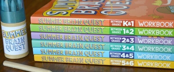 New Summer Brain Quest Workbooks + Giveaway