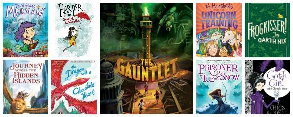 new fantasy books middle grade 2017