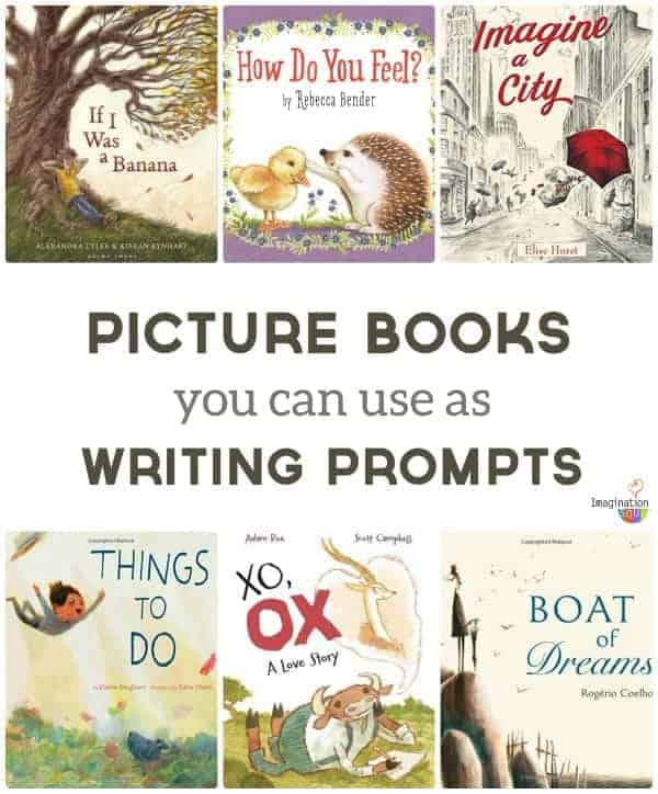 2017 picture books to use as writing prompts