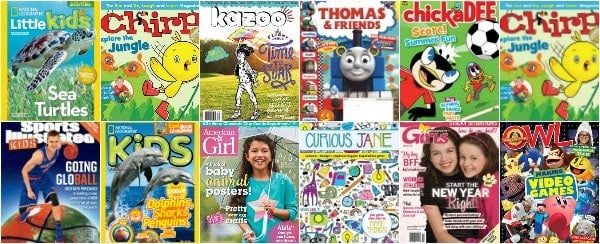 the best magazines for kids  that get them reading