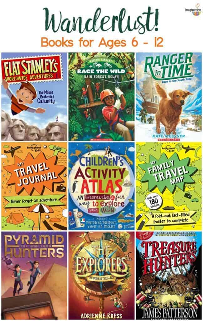 travel, geography, and wanderlust chapter and nonfiction books for kids