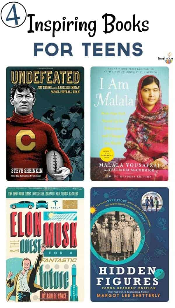 Inspiring biographies for teens