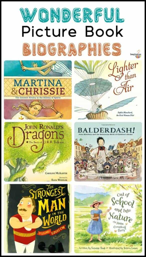 6 Wonderful New Picture Book Biographies for Children in Elementary School